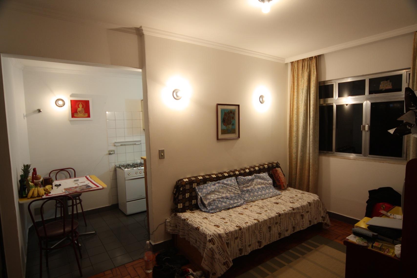 Wohnzimmer mit Kaffee-Sofa ;-)